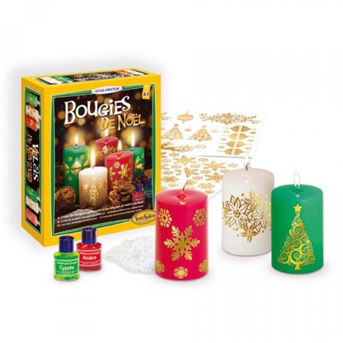 Купить Наборы для мыловарения, SentoSpherE Набор для творчества Рождественские свечи