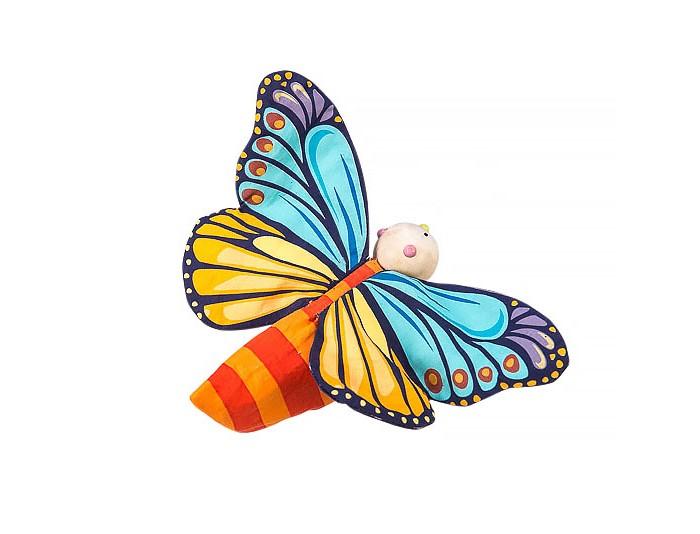 Деревянные игрушки LeToyVan Игрушка Гусеница превращается в бабочку, Деревянные игрушки - артикул:524016