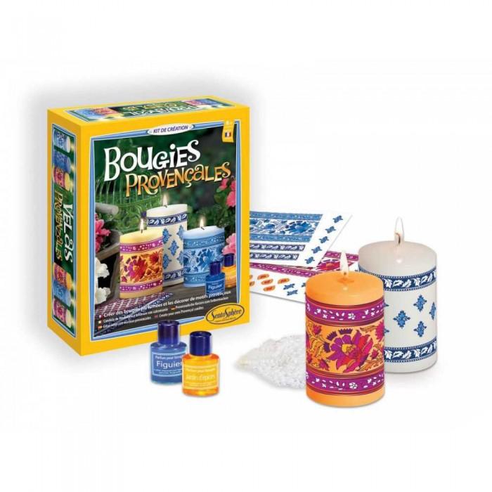 Купить Наборы для мыловарения, SentoSpherE Набор для творчества Провансальские свечи