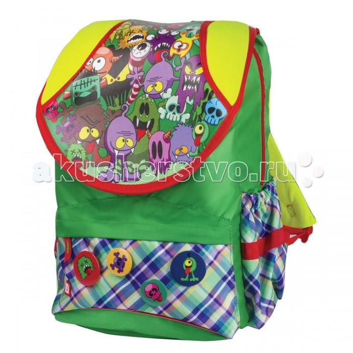 Школьные рюкзаки Brauberg Рюкзак Ужастики
