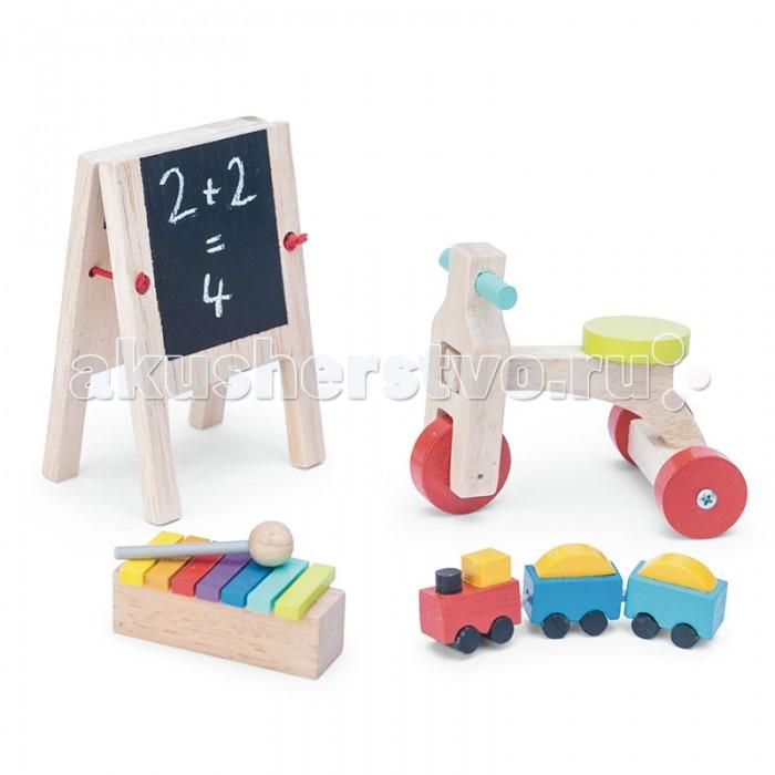 Деревянные игрушки LeToyVan Набор аксессуаров для домика Игрушки для детской игрушки для детей