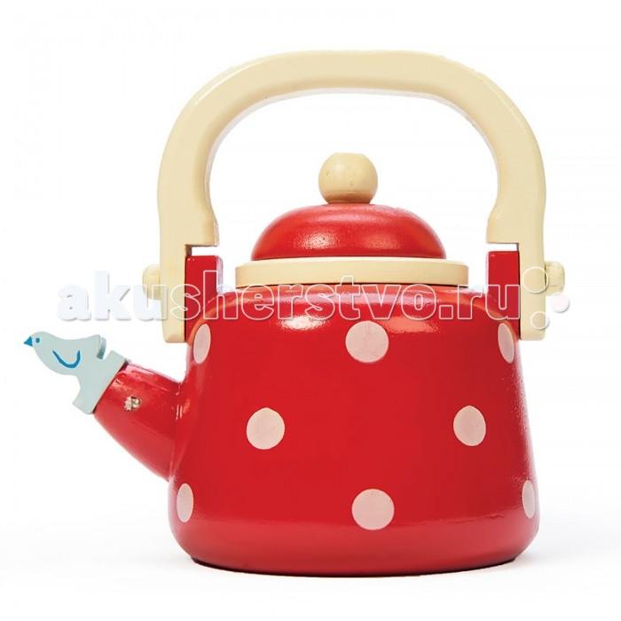 Деревянные игрушки LeToyVan Игрушечная посуда Чайник, Деревянные игрушки - артикул:524396
