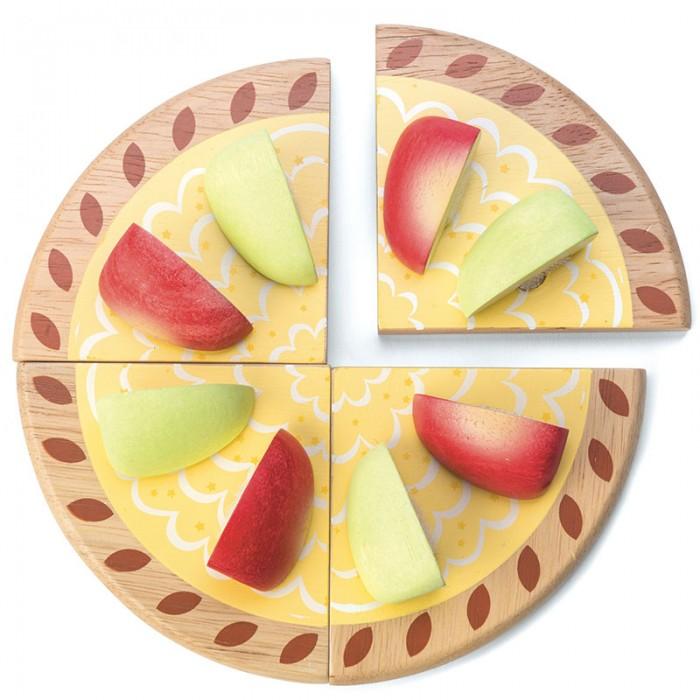 Деревянные игрушки LeToyVan Игрушечная еда Яблочный пирог, Деревянные игрушки - артикул:524406