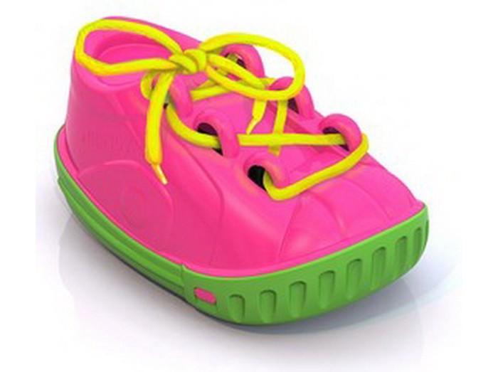 Развивающие игрушки Нордпласт Ботинок-шнуровка