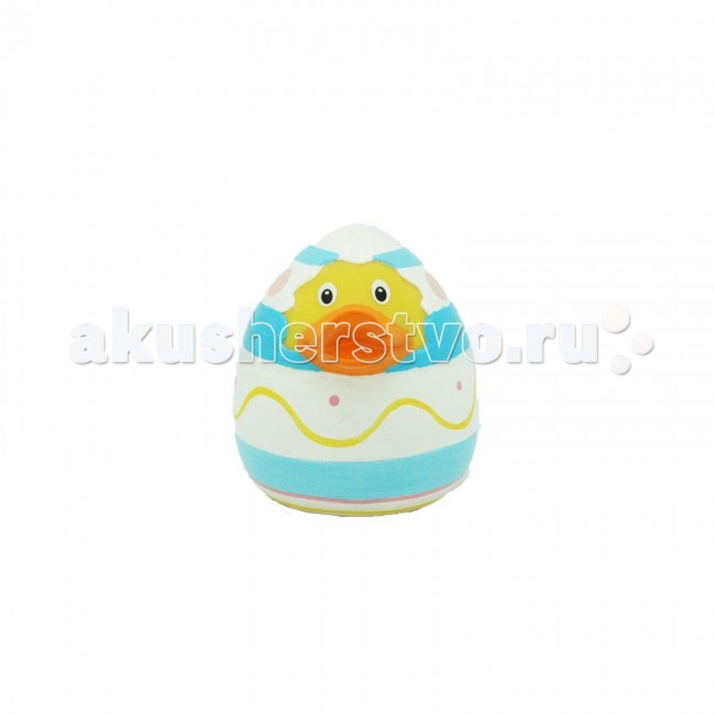 LiLaLu Игрушка для купания Уточка в яйце