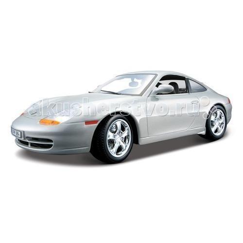 Bburago 1:18 Автомобиль Gold Porsche 911 Carrera (1997)1:18 Автомобиль Gold Porsche 911 Carrera (1997)Bburago 1:18 Автомобиль Gold Porsche 911 Carrera (1997) - от компании Bburago является одной из моделей серии Gold Collezione.   Она выполнена в масштабе 1:18 и воспроизводит все детали внешнего облика реального автомобиля данной марки.   Корпус модели выполнен из металла, машинка представлена в серебристом и красном цвете, имеет открывающиеся багажник, капот, двери. При повороте руля поворачиваются колеса автомобиля.   Рекомендуется для детей в возрасте от 3-х лет.<br>