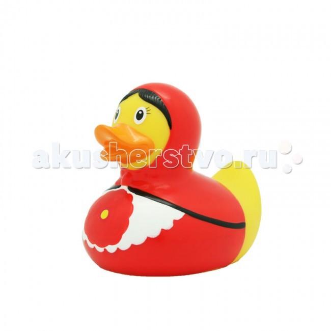 Игрушки для ванны LiLaLu Игрушка для купания Уточка русская красавица красная lilalu игрушка для купания уточка байкер