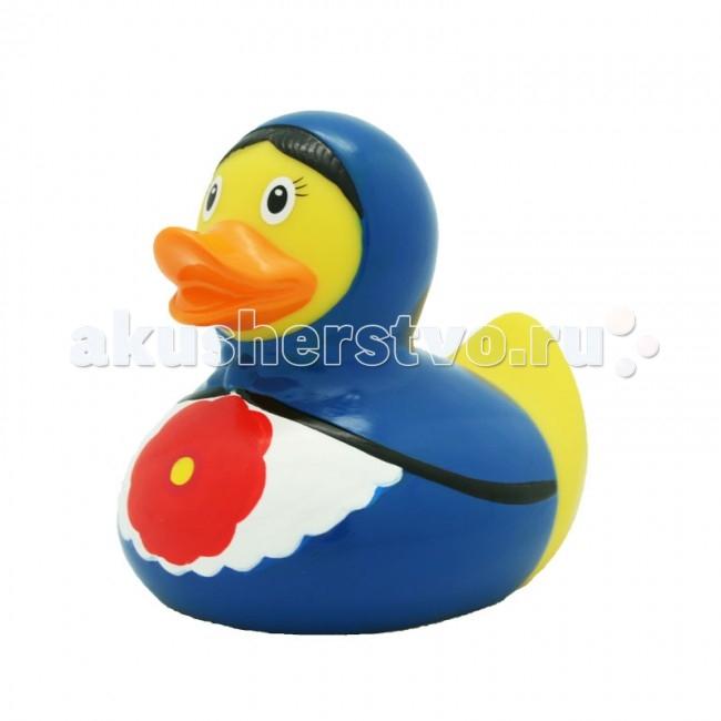 Игрушки для ванны LiLaLu Игрушка для купания Уточка русская красавица в синем lilalu игрушка для купания уточка байкер