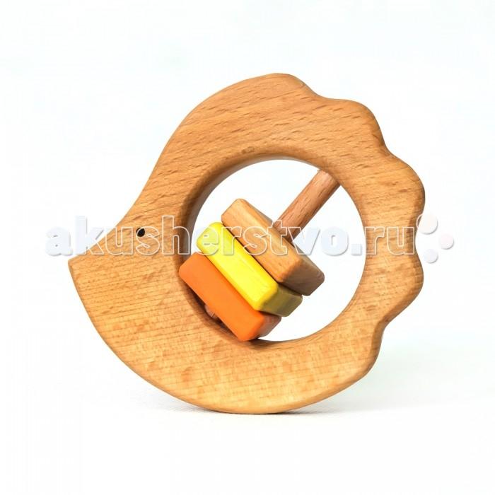 Деревянные игрушки Букашка Лесной ежик (бук) погремушки simba букашка прорезыватель