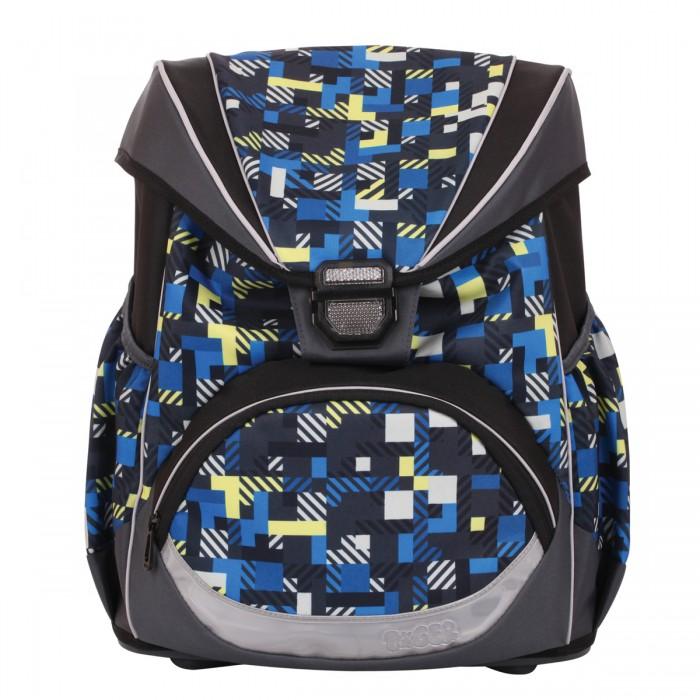 Tiger Family Рюкзак МатрицаШкольные рюкзаки<br>Tiger Family Рюкзак Матрица - удобный, как ранец, и легкий, как рюкзак!   Жесткая спинка и усиленное дно обеспечивают комфортное ношение без утяжеления. Светоотражающие элементы с четырех сторон делают школьника более заметным на дороге даже в темное время суток. Устойчивое дно из облегченного пластика защищает учебники и тетради от намокания. В боковые карманы отлично помещается бутылочка с водой. Качественный водоотталкивающий материал не позволяет грязи въедаться, поэтому рюкзак легко чистить влажной тряпочкой.   Все материалы и красители проверены на отсутствие вредных веществ и аллергенов в соответствии с европейским стандартом качества и безопасности.  Особенности: Возрастная группа: 9-11  лет Объем: 16 л Количество отделений: 1 Перегородка в основном отделении Количество карманов: 3 Фронтальный карман Боковые карманы Материал спинки: пенополиуретан Спинка: формоустойчивая, вентилируемая, ортопедическая Светоотражающие элементы Наличие ручки для переноса Регулируемые лямки Вентилируемые лямки Материал дна: пластик.