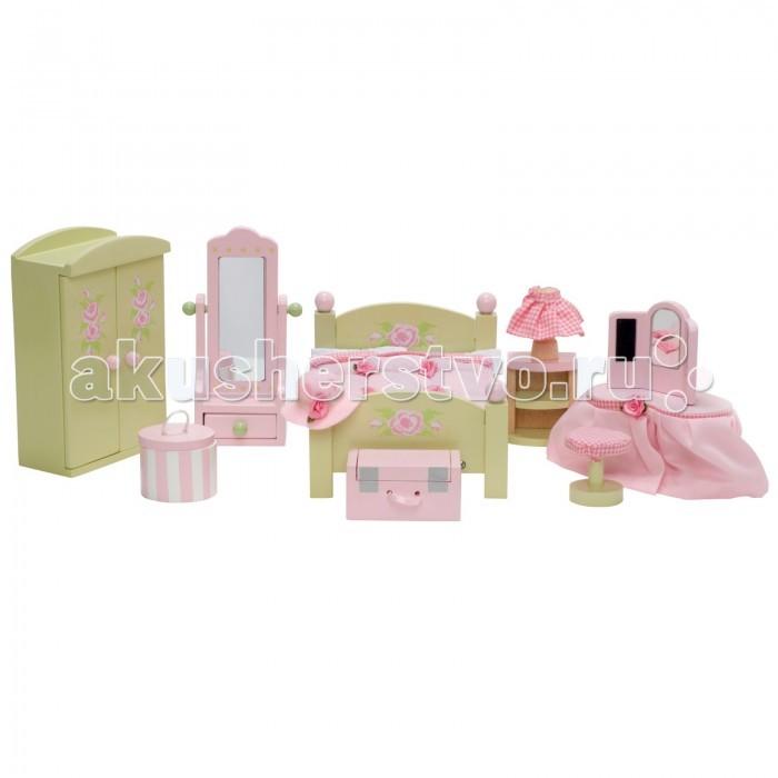 Кукольные домики и мебель LeToyVan Бутон розы Спальня кукольные домики и мебель letoyvan бутон розы ванная