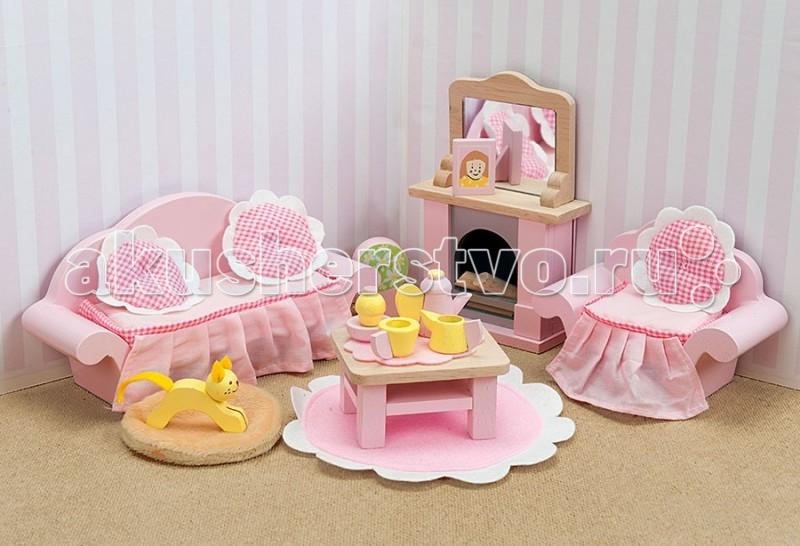 Кукольные домики и мебель LeToyVan Бутон розы Гостиная goki мебель для кукольной гостиной 28 предметов