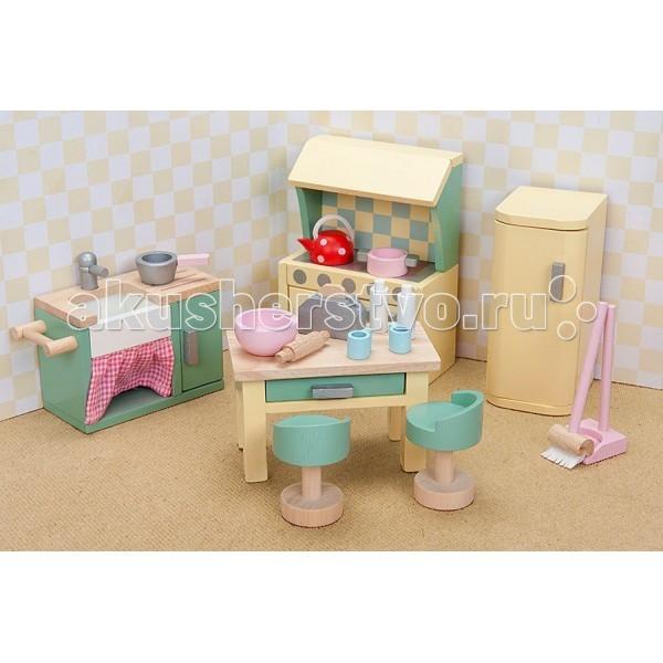 Кукольные домики и мебель LeToyVan Бутон розы Кухня кукольные домики и мебель letoyvan бутон розы ванная