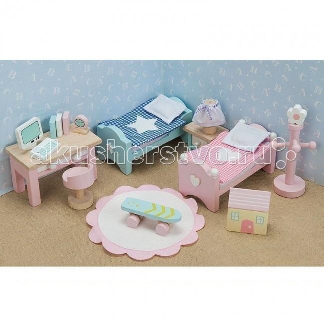 Кукольные домики и мебель LeToyVan Бутон розы Детская кукольные домики и мебель letoyvan бутон розы ванная