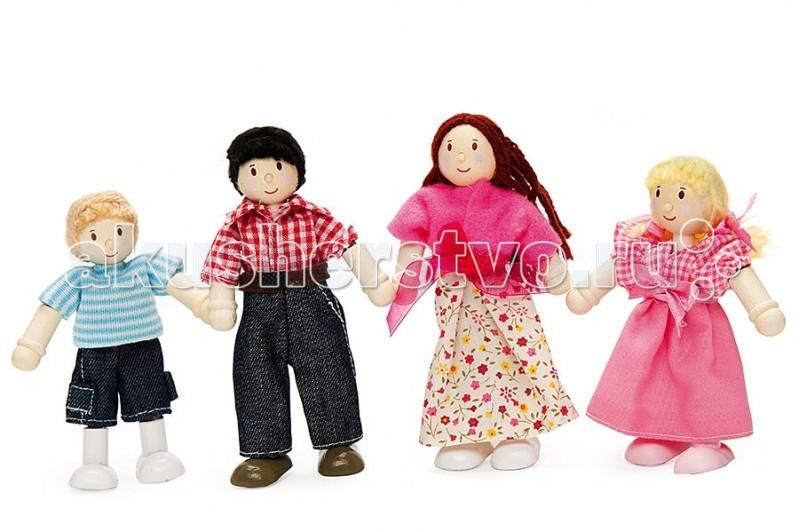 Куклы и одежда для кукол LeToyVan Набор Моя семья куклы и одежда для кукол виана одежда для кукол 128 21