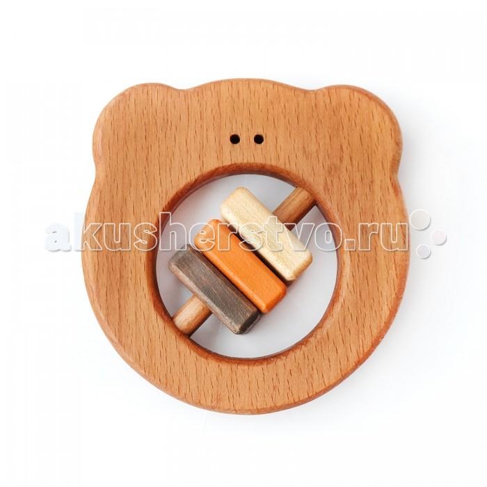 Деревянные игрушки Букашка Бурый мишка (бук) погремушки simba букашка прорезыватель