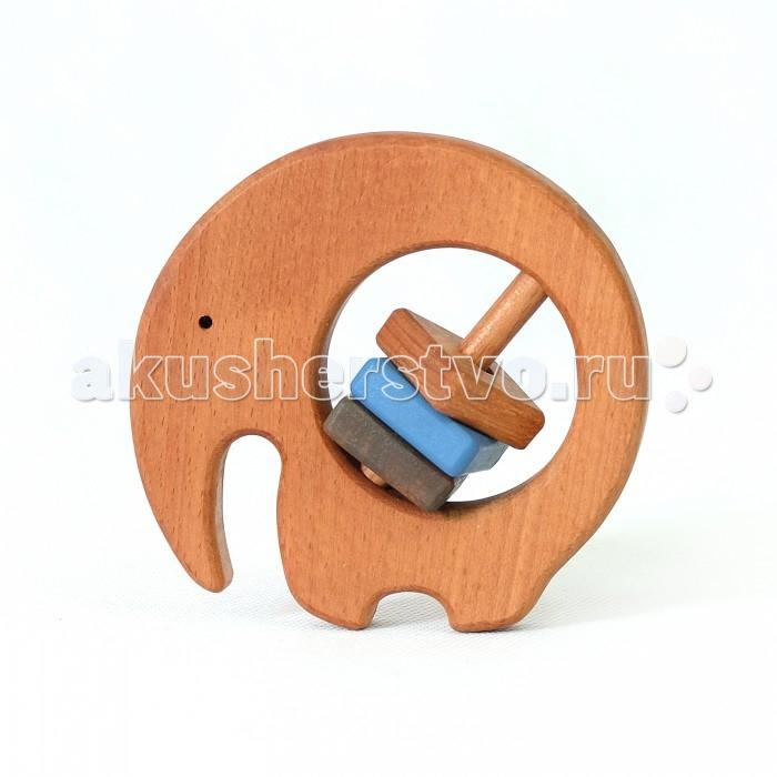 Деревянные игрушки Букашка Слоник (бук) погремушки simba букашка прорезыватель