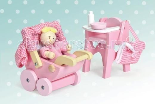 Кукольные домики и мебель LeToyVan Набор Детская кукольные домики и мебель letoyvan бутон розы ванная