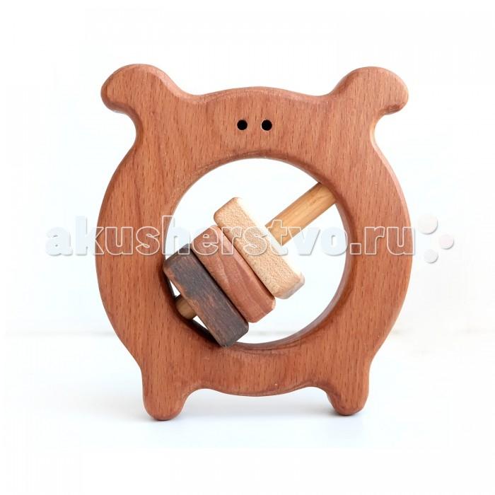Деревянные игрушки Букашка Жучок (бук) Оригинал погремушки simba букашка прорезыватель