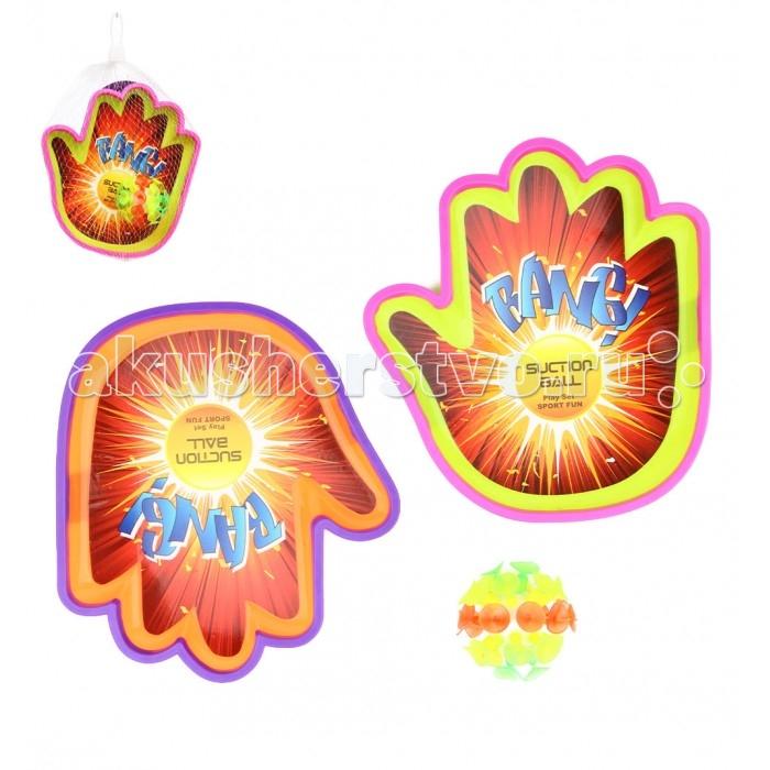 Спортивный инвентарь S+S Toys Набор для игры в мяч SS-289D zanst zamst функциональный спортивный инвентарь ha 1 сетка короткая трубка дышащая беговая марафонная защитная ножка 2 грузя черный s