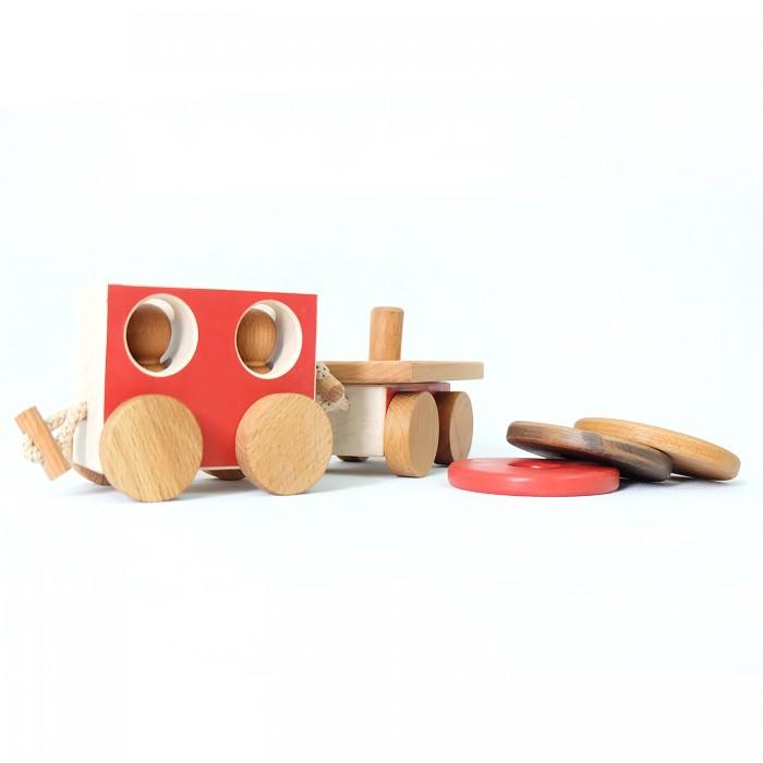 Деревянные игрушки Букашка Набор вагонов (2 шт) машинки siku игрушка региональный вагон
