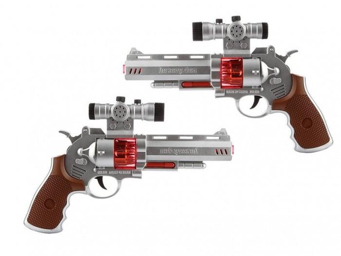 Игрушечное оружие 4 Home Космический бластер 2 револьвера 19 см