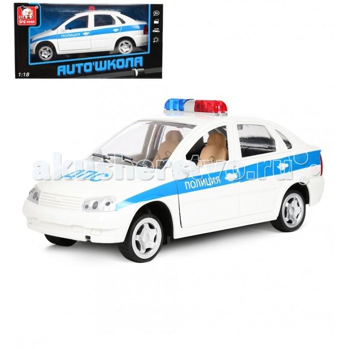 Фото Машины S+S Toys Машина Полиция 1:18 сотовый телефон s s