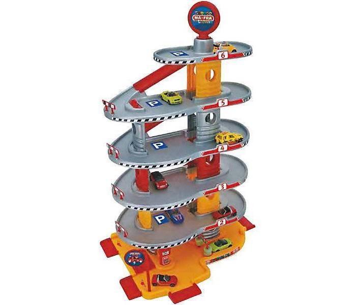 Машины Faro Игровой набор Гараж 6-уровневый 69 см