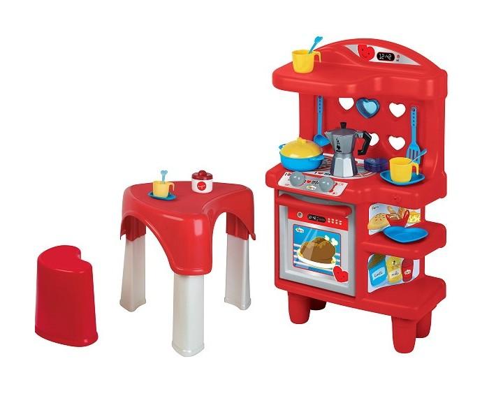 Фото - Ролевые игры Faro Игровой набор Кухня со стол, табуретом и аксессуарами 1564 кухня виктория 3000
