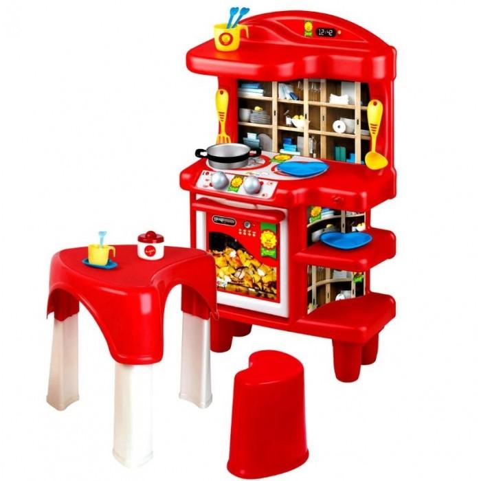 Ролевые игры Faro Игровой набор Кухня 67 см + стол ролевые игры playgo игровой набор для приготовления хот догов делюкс