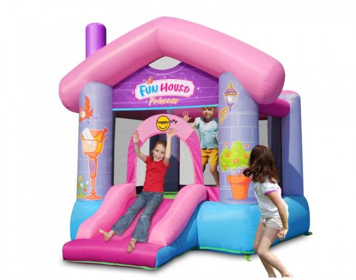 Happy Hop Надувной батут Забавный дом для принцессы от Happy Hop