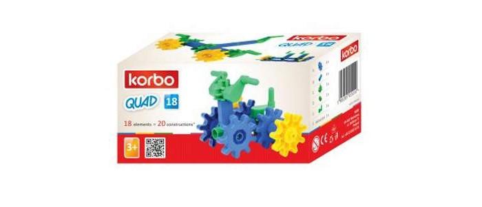 Купить Сборные модели, Korbo Quad 18 элементов