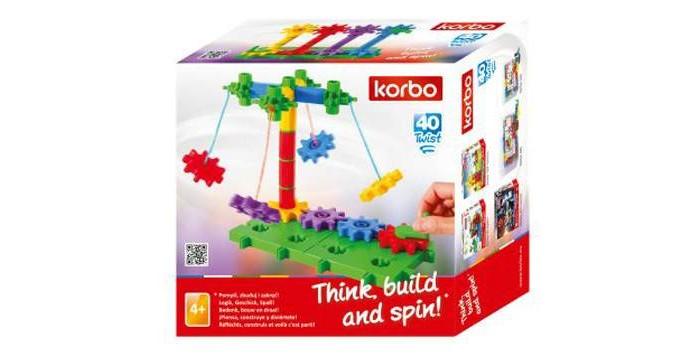 Купить Сборные модели, Korbo Twist 40 элементов
