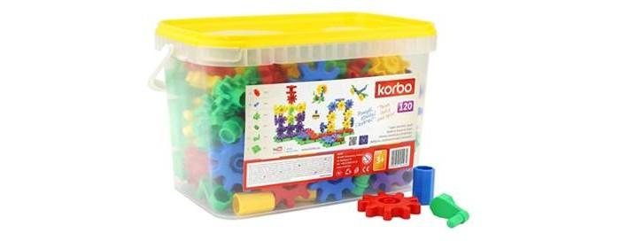 Конструктор Korbo 120 элементов