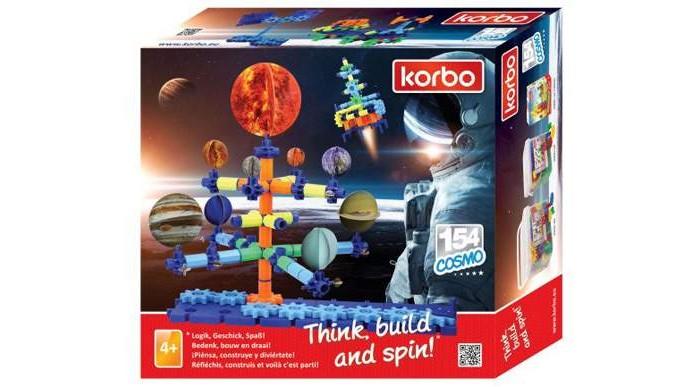 Конструктор Korbo Cosmo 154 элемента
