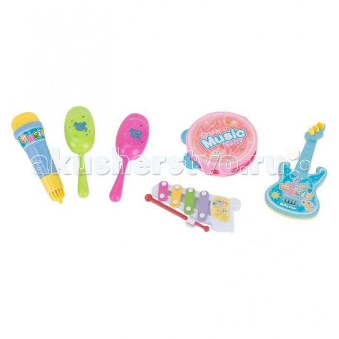 Музыкальные игрушки S+S Toys Набор инструментов EG4795R музыкальные инструменты s s toys гитара 0383 в коробке