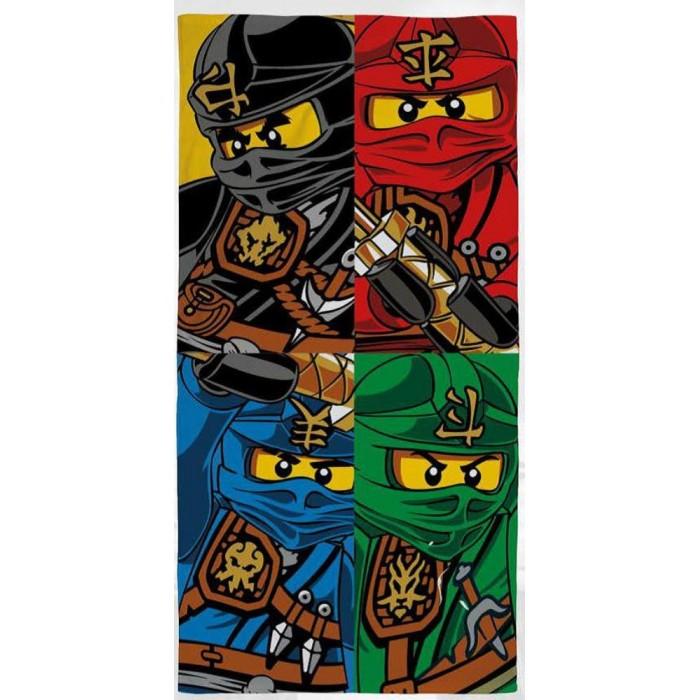 Полотенца Lego Полотенце Ninjago Team 70х140 полотенца arya полотенце desima цвет пурпурный 70х140 см