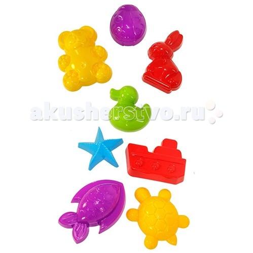 Игрушки для зимы Альтернатива (Башпласт) Формочки для песка №1 формочки для песка стеллар