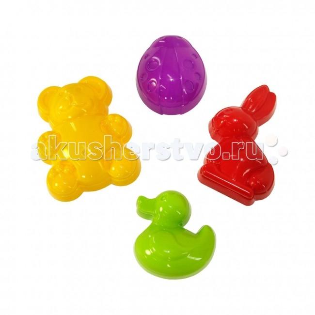 Игрушки для зимы Альтернатива (Башпласт) Формочки для песка Зоопарк формочки для песка стеллар
