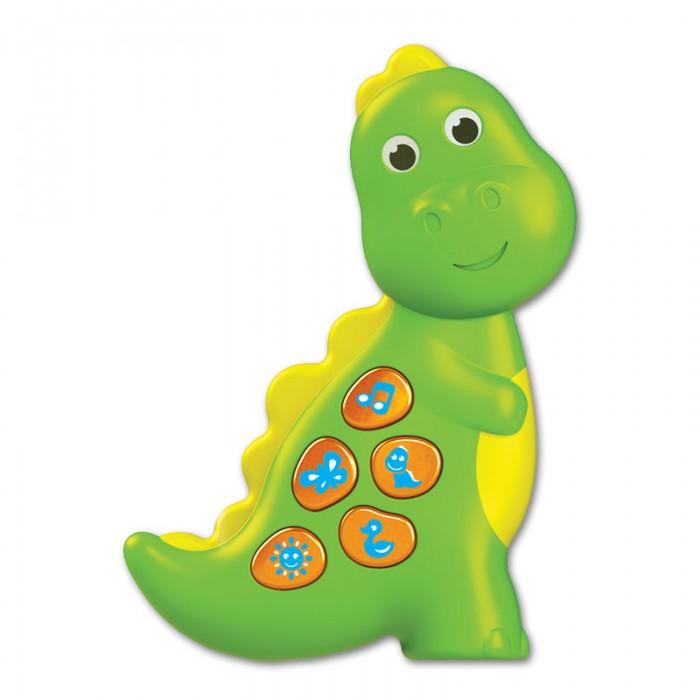 Музыкальные игрушки Азбукварик Динозаврик (Чудо-огоньки) музыкальные игрушки азбукварик новогодние игрушки дед мороз