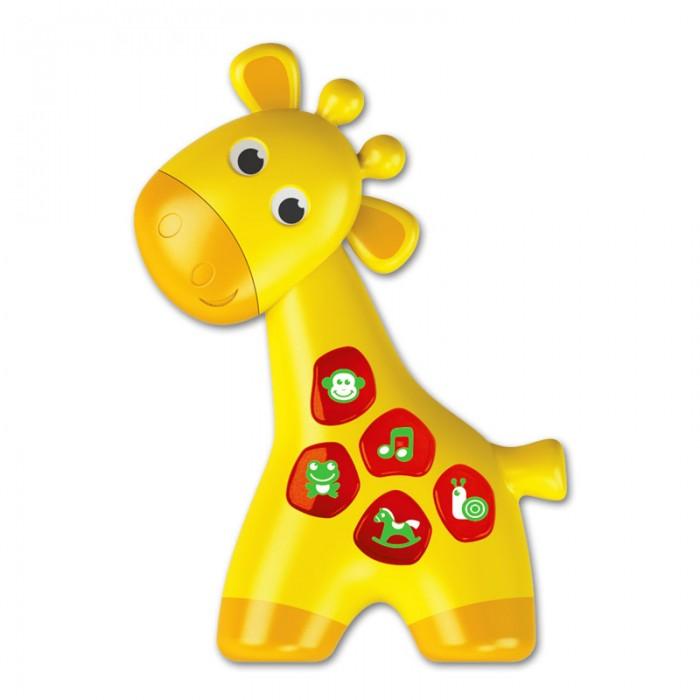 Электронные игрушки Азбукварик Жирафик (Чудо-огоньки) азбукварик игрушка развивающая азбукварик музыкальный паровозик желтый