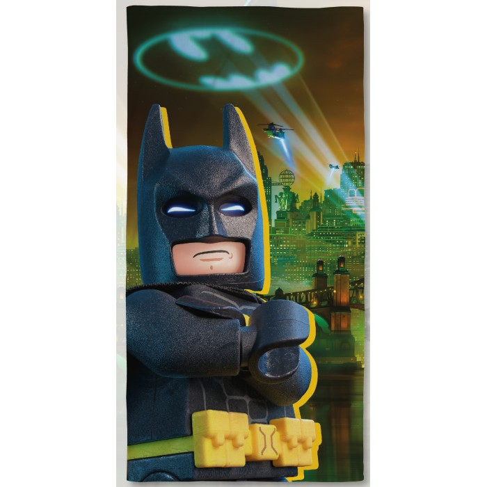 Полотенца Lego Полотенце Batman Movie Scens 70х140 полотенца arya полотенце desima цвет пурпурный 70х140 см