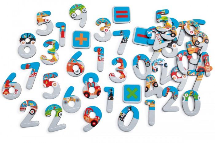 Scratch   Набор магнитных цифр Magnetic 123 City