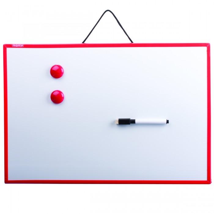 Доски и мольберты Пифагор Доска магнитно-маркерная 30х45 см цена