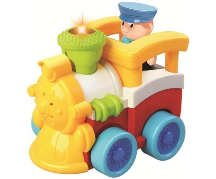 Железные дороги Жирафики Радиоуправляемая игрушка Паровозик, Железные дороги - артикул:528776