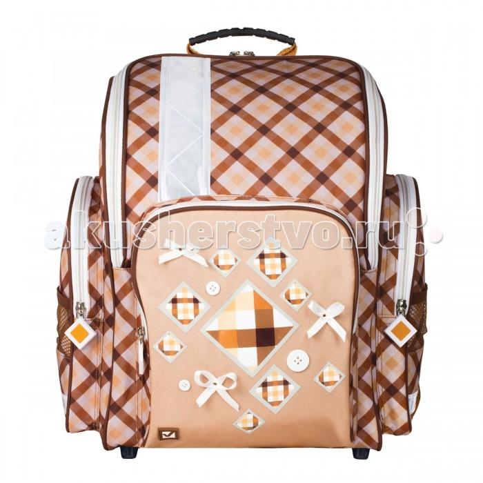 Развитие и школа , Школьные рюкзаки Brauberg Ранец Кембридж 18 л арт: 529106 -  Школьные рюкзаки