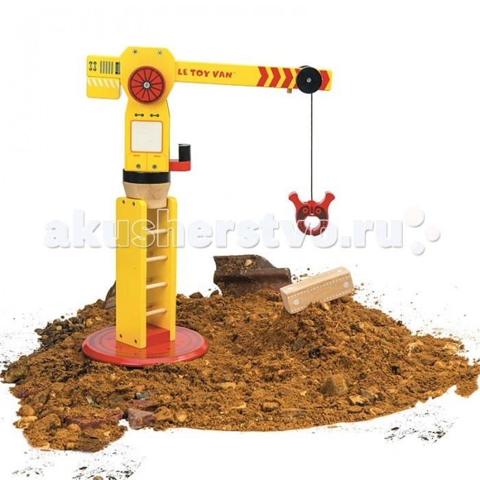 Деревянные игрушки LeToyVan Строительный кран, Деревянные игрушки - артикул:529491