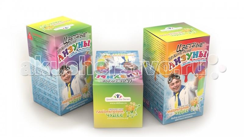 все цены на  Наборы для творчества Инновации для детей Набор Юный химик. Цветные лизуны  онлайн