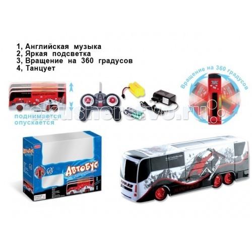 Машины Zhorya Автобус на р/у ZYB-00126-2 машины zhorya bmw z4 1 16 на р у