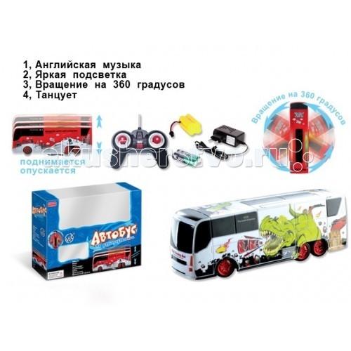 Машины Zhorya Автобус на р/у ZYB-00126-6 машины zhorya bmw z4 1 16 на р у